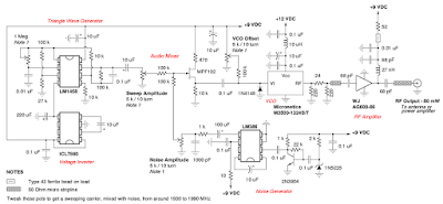 Jammer Circuit Diagram