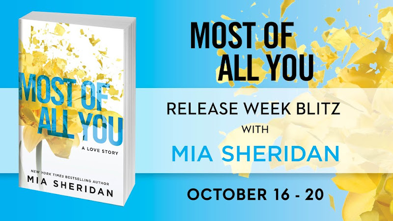 Most of All You by Mia Sheridan Blog Tour | Author Interview + Excerpt