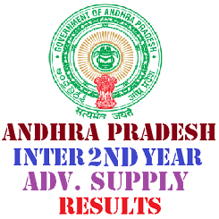 AP Intermediate 2nd Year Advanced Supplementary Results