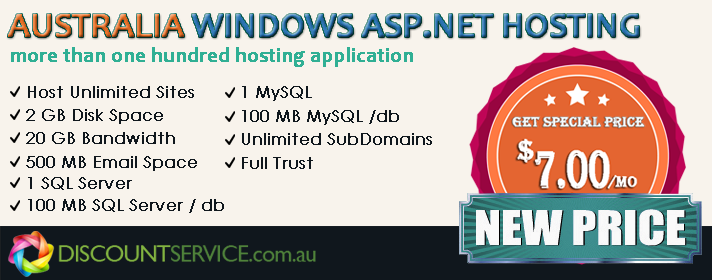 Top and Reliable ASP.NET Hosting Recommendation in Australia
