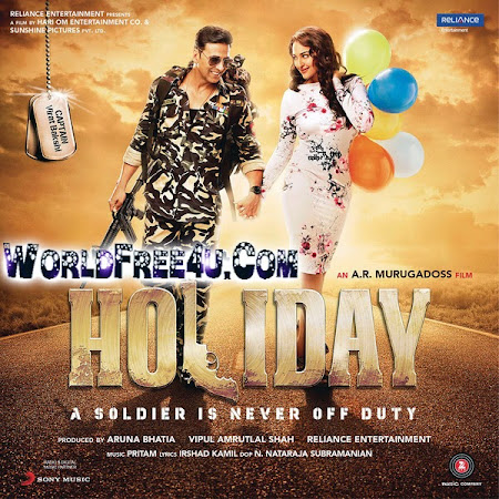 Poster Of Holiday (2014) All Full Music Video Songs Free Download Watch Online At worldfree4u.com