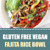 Gluten Free Vegan Fajita Rice Bowl #vegan #glutenfree