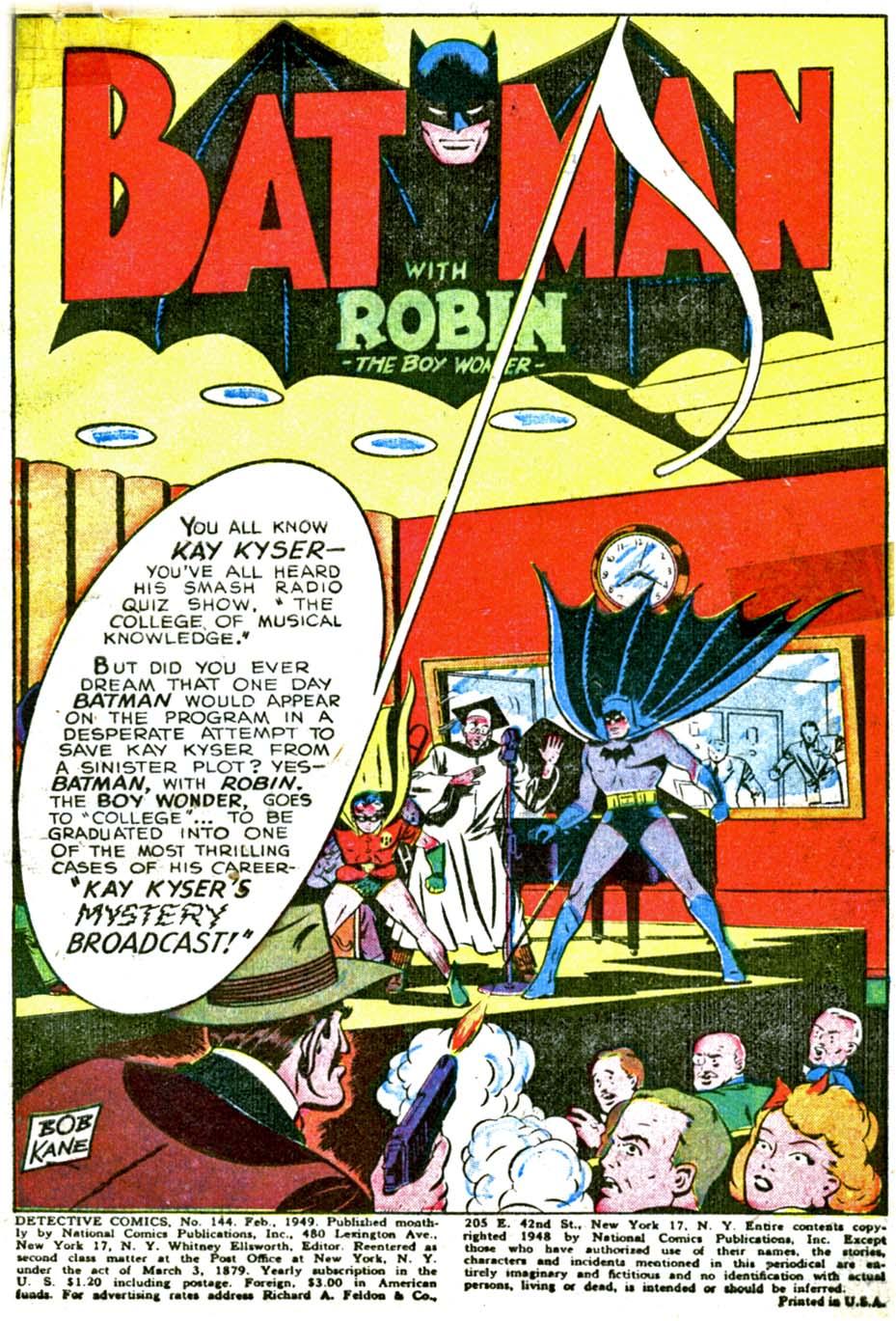 Read online Detective Comics (1937) comic -  Issue #144 - 3