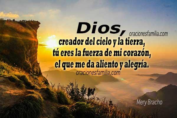 linda oracion de la mañana, buenos dias Dios, frases cristianas, plegaria al Señor