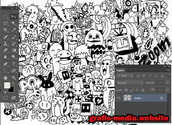 Tutorial cara membuat doodle art name dengan photoshop for Doodle tutorial