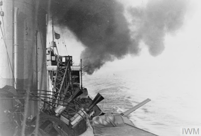 HMS Suffolk firing its guns 25 May 1941 worldwartwo.filminspector.com