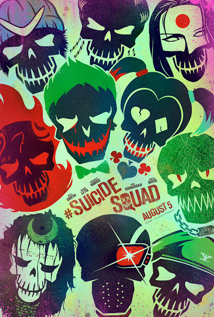 WB Releases New Suicide Squad and Batman v. Superman Posters!