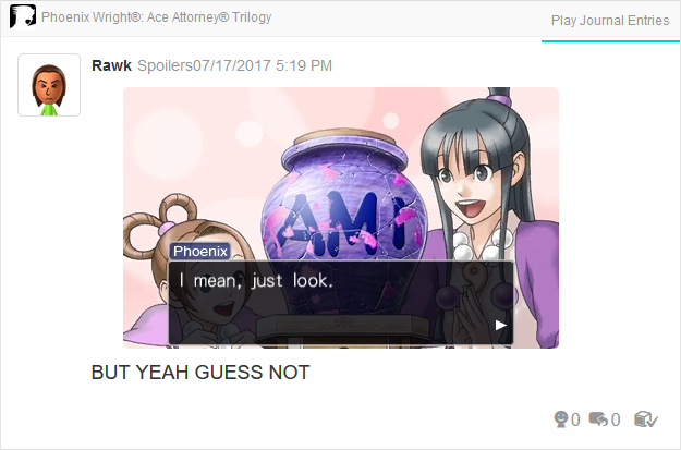 Phoenix Wright Ace Attorney Trials and Tribulations Ami urn Maya Pearl Fey