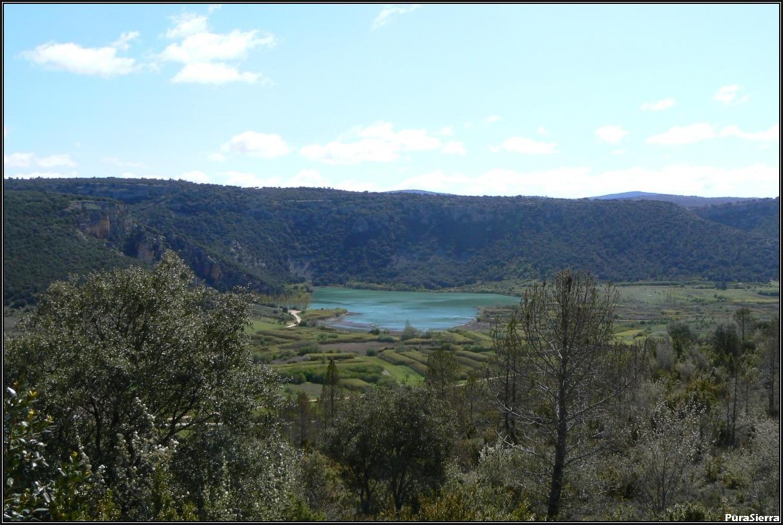 El Tobar. Vista de la Laguna Grande (compartida con Masegosa)