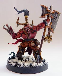 Redarg Bloodfane, Exalted Deathbringer