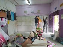 Kertas Kerja Menaiktaraf Bilik Kaunseling SMK Cheras