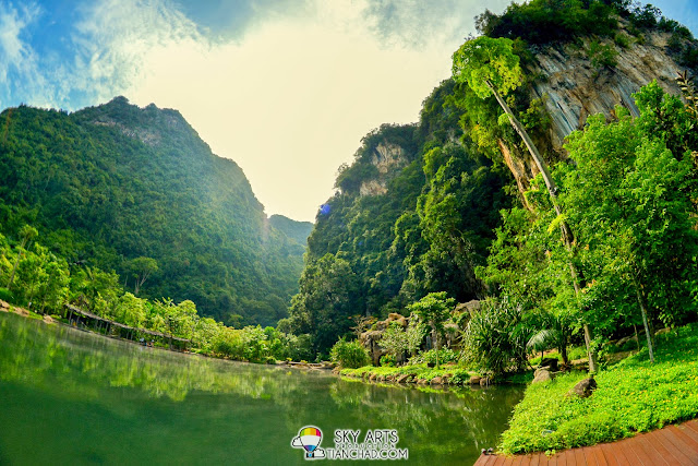 Beautiful mountains scenery @ The Banjaran Hotsprings Retreat, Ipoh