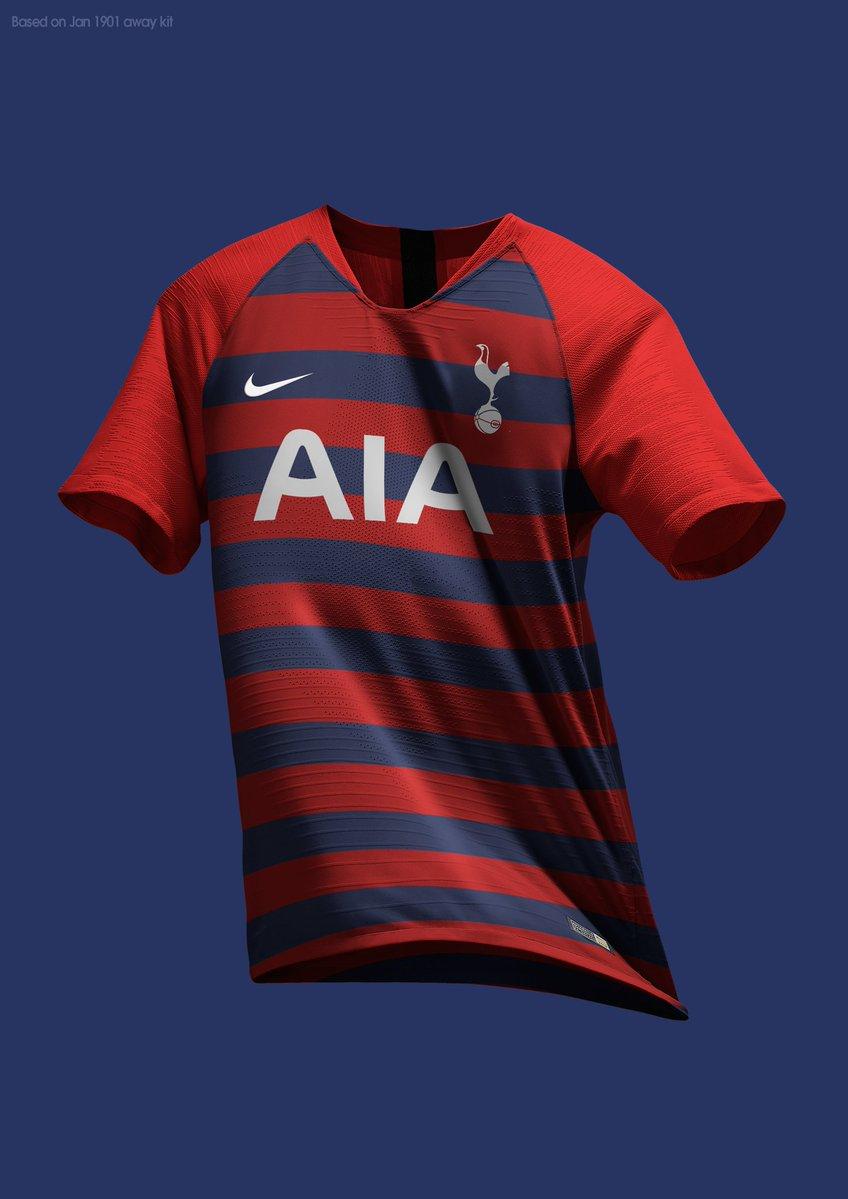 Stunning Nike Tottenham 19-20 Home, Away & Third Concept Kits by MZA