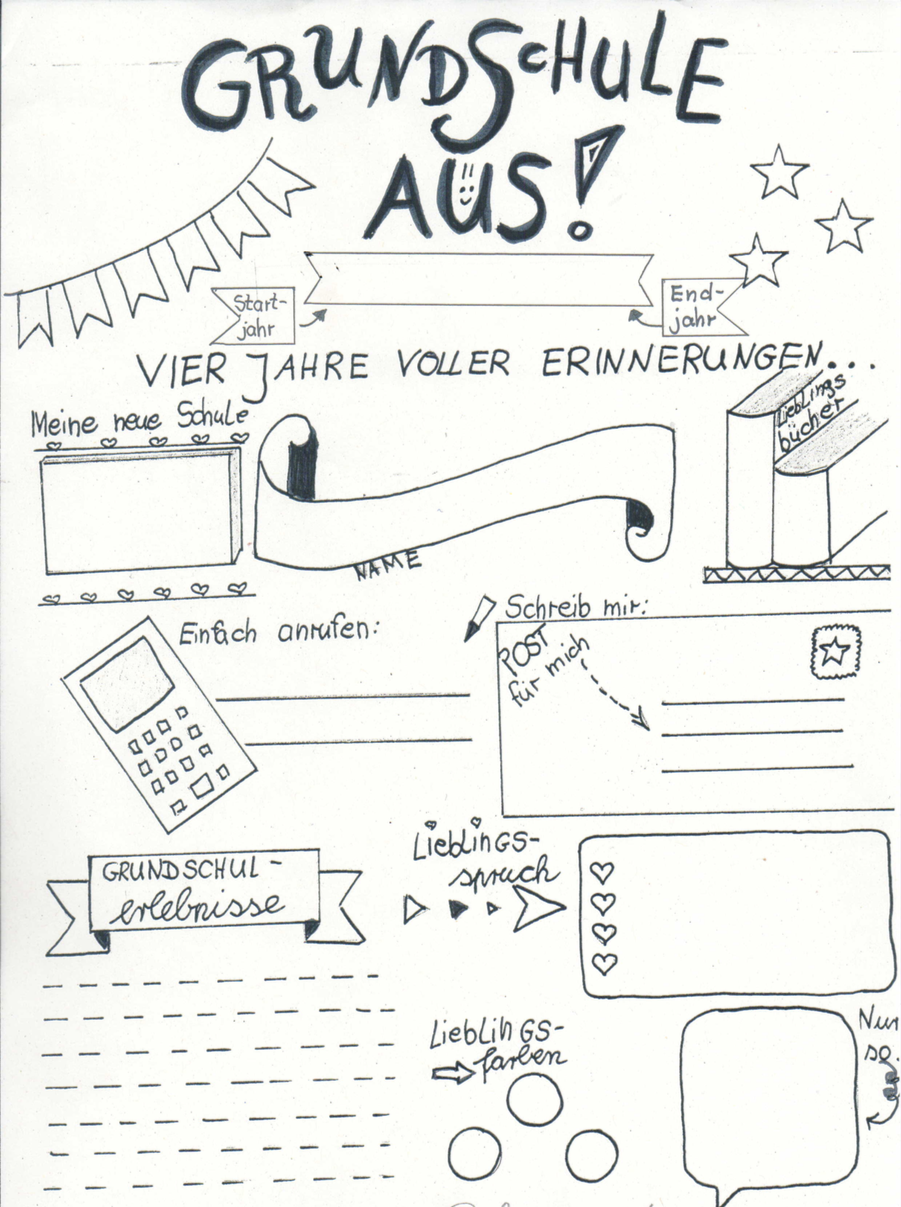 Abschluss Journal Zaubereinmaleins Designblog