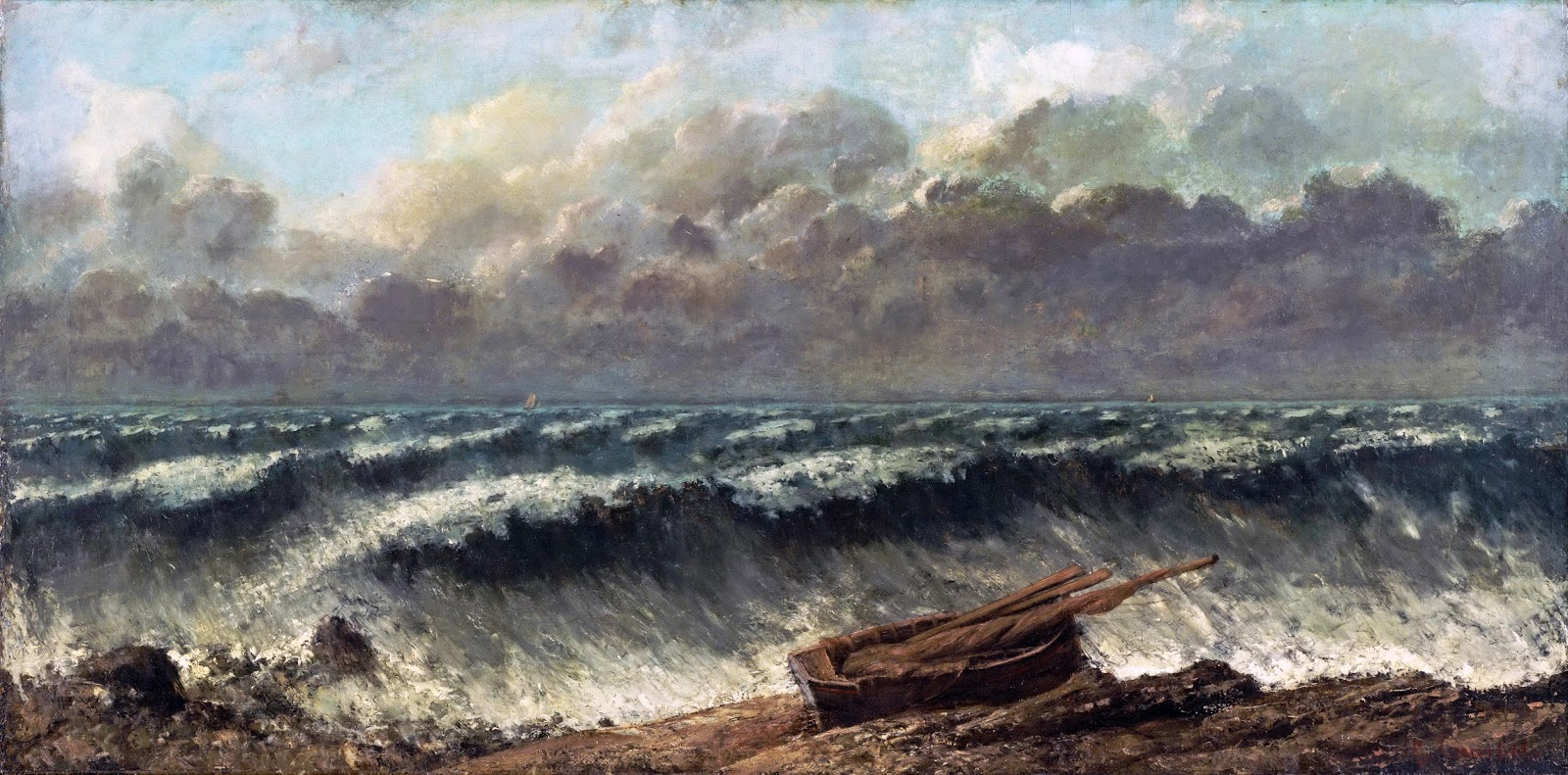 Peinture Française du 19ème Siècle: Gustave Courbet (1869)