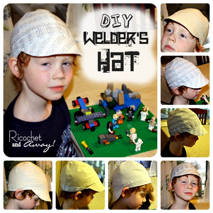 ricochet and away welder s hat i found a free pattern