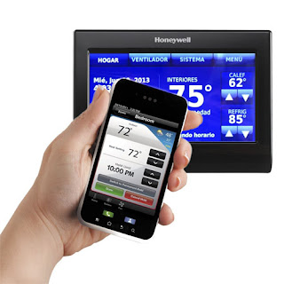 Remote access wifi thermostat