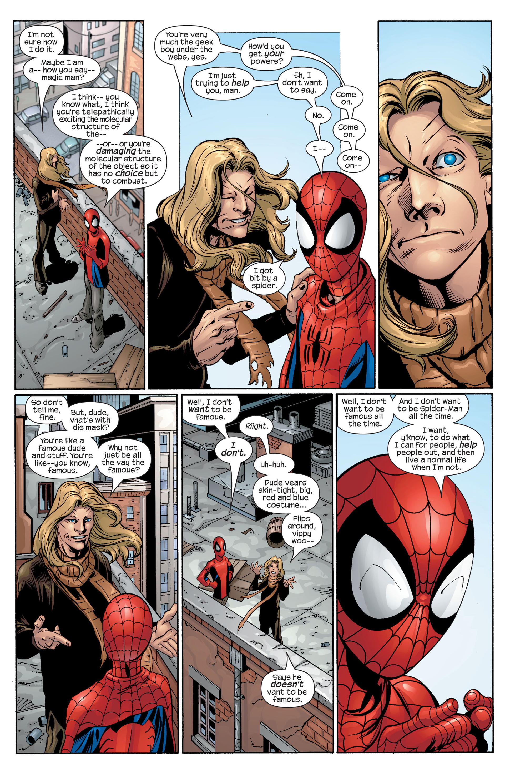 Read online Ultimate Spider-Man (2000) comic -  Issue #42 - 13