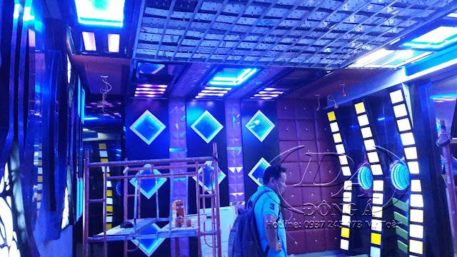 Cách âm trang trí nội thất karaoke