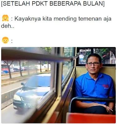 15 Meme Sandiaga Uno Di Metro Mini Ini Lucu Banget, Kreatif Ya!
