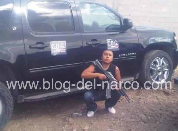 """Fotografías; Puro Cartel del Golfo, Plaza Zacatecas, Fresnillo, """"Vamos por todos los Zetas de Mierda"""""""