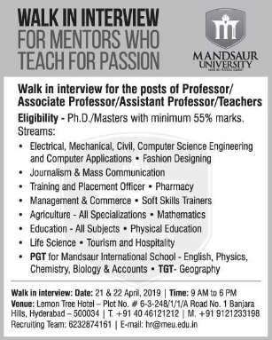 Fashion Designing Teaching Jobs In Hyderabad School Style