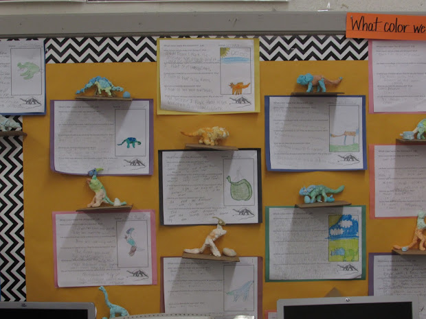 Growing Stem Classroom Color Dinosaurs