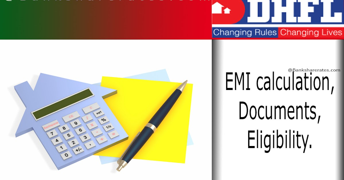 DHFL Home Loan EMI Calculation July 2017 - Interest Rate 8 ...