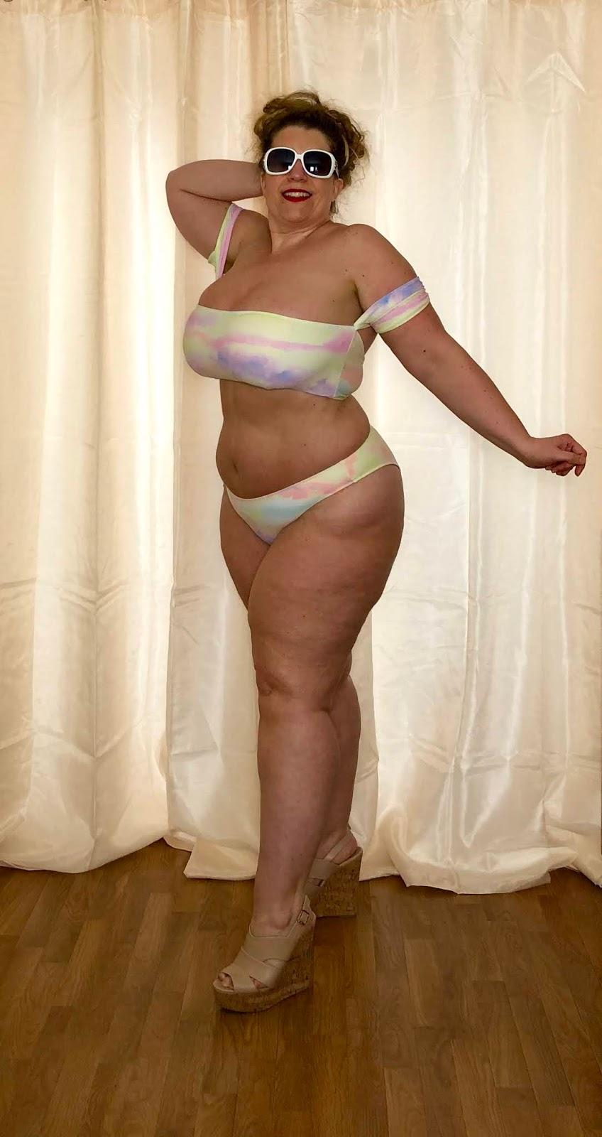 Forever 21+ Watercolor Bikini
