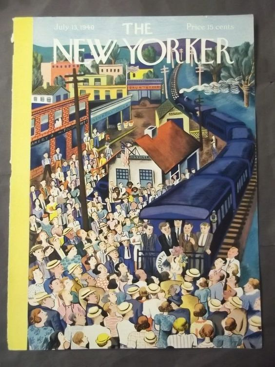 13 July 1940 worldwartwo.filminspector.com New Yorker cover