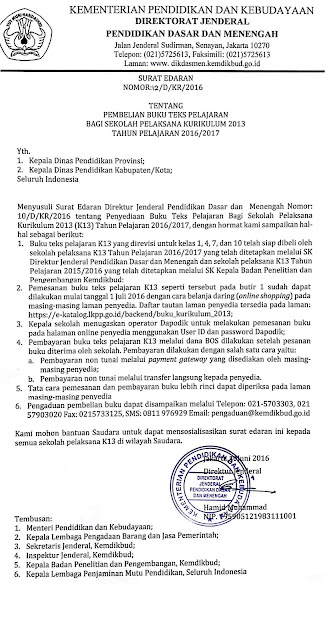 INILAH CARA MEMBELI BUKU K-13 ONLINE 2016/2017