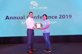 First woman C# corner Most Valuable Professional (MVP) in Sri Lanka!