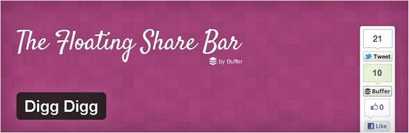 Digg Digg social sharing plugin for WordPress