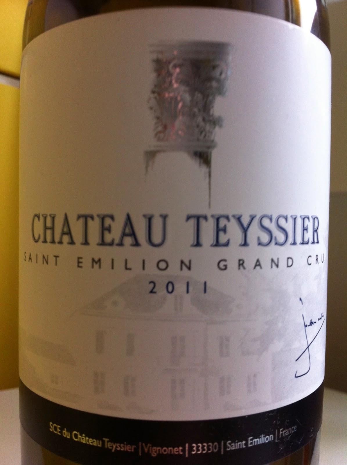 wine in sweden tn chateau teyssier 2011 saint emilion. Black Bedroom Furniture Sets. Home Design Ideas