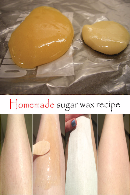 HOW TO MAKE AND USE SUGAR WAX