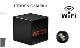 ProElite Clock with Wi-Fi Hidden Camera