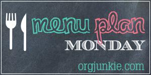 Menu Plan Monday - Weekly Meal Plan