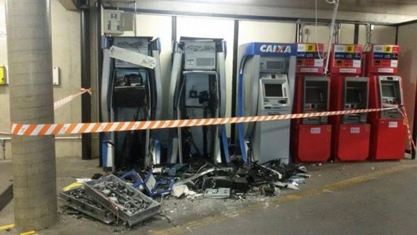 Lei que endurece penas para roubos de caixas eletrônicos é sancionada