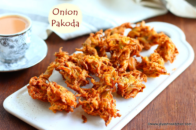 Onion pakoda recipe