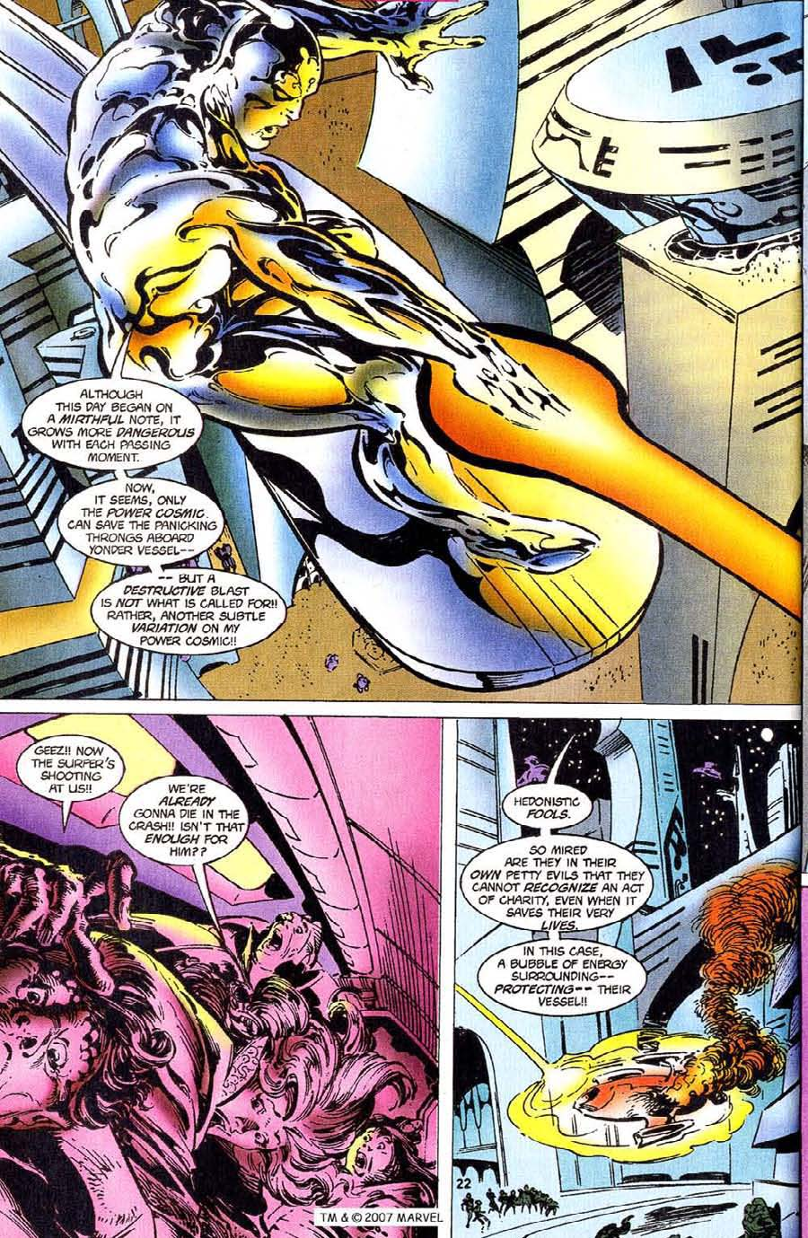 Read online Silver Surfer (1987) comic -  Issue #110 - 24