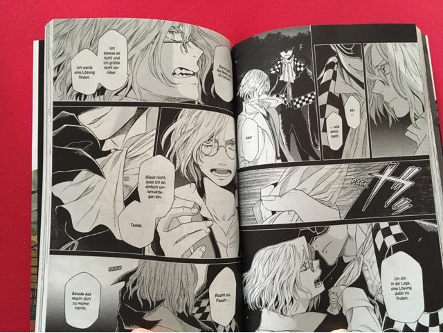 Review zum Manga Frau Faust