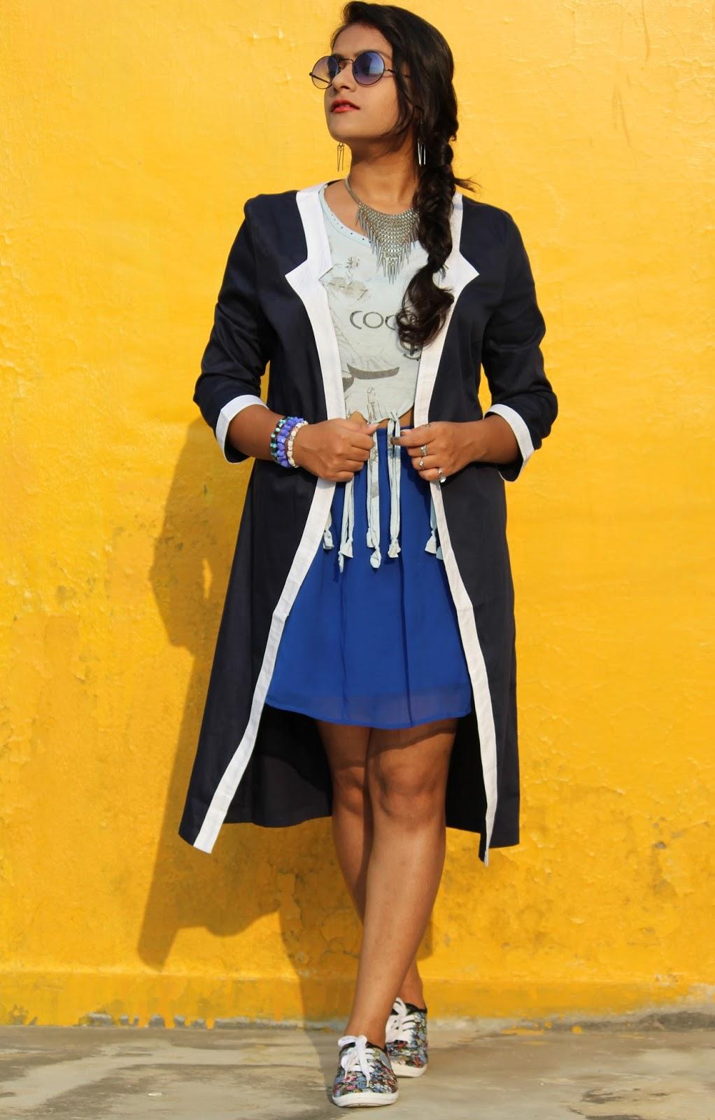 15027e7a9c skirt, shrug : StalkBuyLove.com | top : Old Buy (DIY) | shoes : Max Fashion