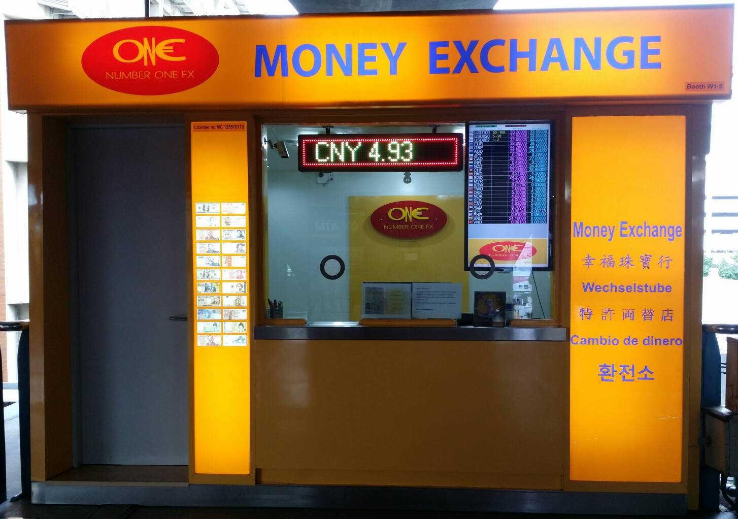 Money Exchange Number One Fx