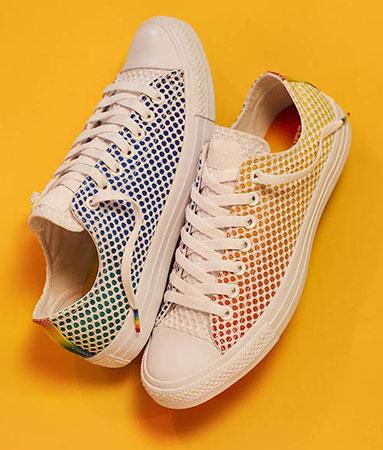 zapatillas Converse colección Pride