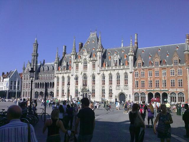 Grand Place - Bruges, Bélgica
