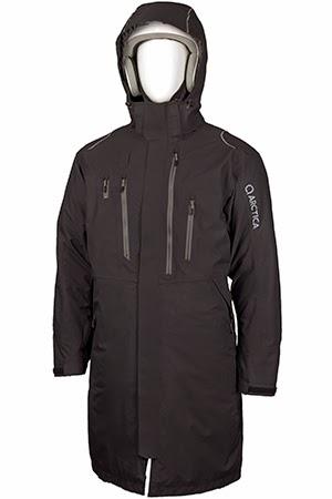 Arctica coaches coat black image