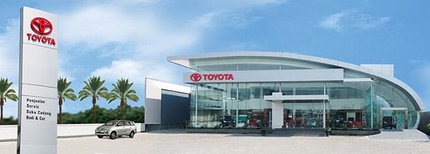 TOYOTA Astrido Toyota Pondok Cabe, Alamat : Jl. Pondok Cabe Raya Blok CA No. 1 Pisangan Ciputat, Tangerang
