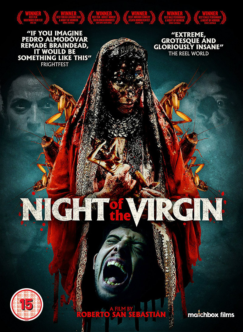 NIGHT OF THE VIRGIN dvd