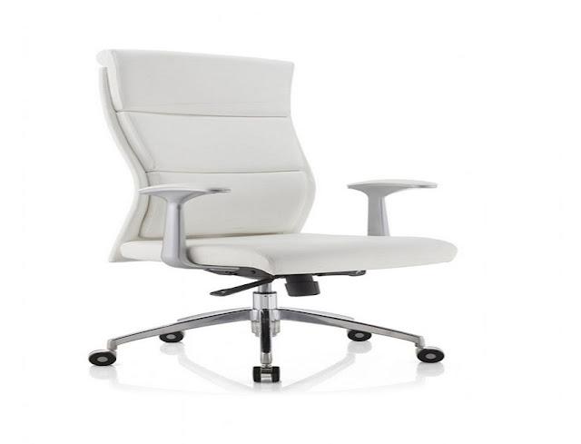 best white ergonomic office chair UK for sale online
