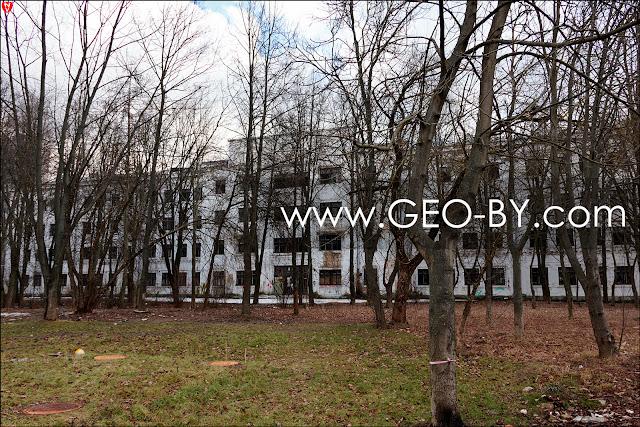 Минск. Заброшенная больница